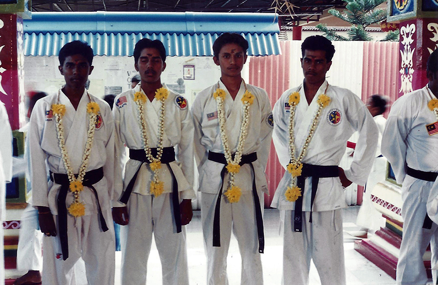 Aranggetram (Black-Belt Graduation) on 11 February 1996 ( Sunday ) at 3.30pm